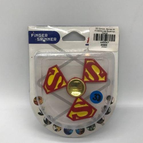 DC Comics - Spinner NN Antiestres Logo Superman Clasicó