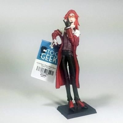 """Kuroshitsuji - Figura Base Negra Grell 5"""" (Copia)"""
