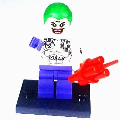 DC Comics - Figura NN Tipo Lego Joker Jared Leto