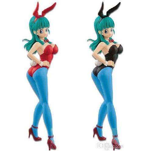"Dragon Ball - Figura Banpresto Hot Cold Bulma Vestida de Conejo en Caja 6"""