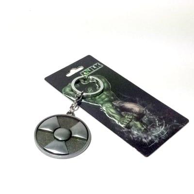 Marvel - Llavero Metálico Hulk Símbolo (Copia)