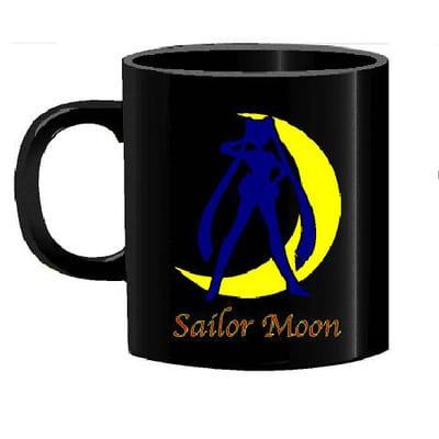 Sailor Moon - Mug Tallado en Ceramica TooGEEK Sailor Moon con Luna