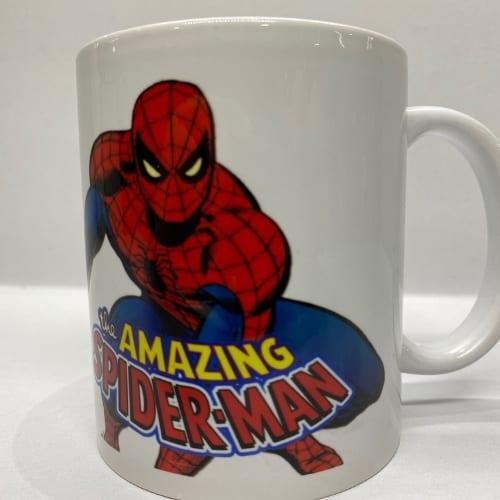 Mug en Cerámica Spider Man PT Spider man DC Comics Blanco The Amazing Spider man