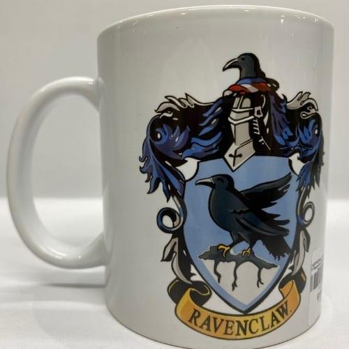 Mug en Cerámica Harry Potter PT Ravenclaw Fantasia Blanco Logo Escudo Ravenclaw