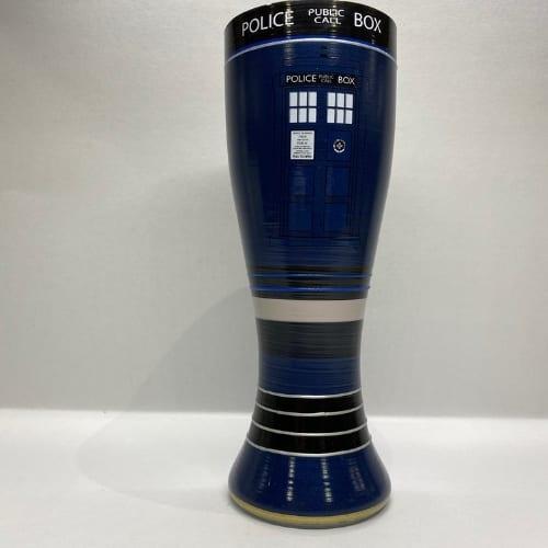 Vaso de cristal Doctor Who PT Pintado a mano Series 20 oz