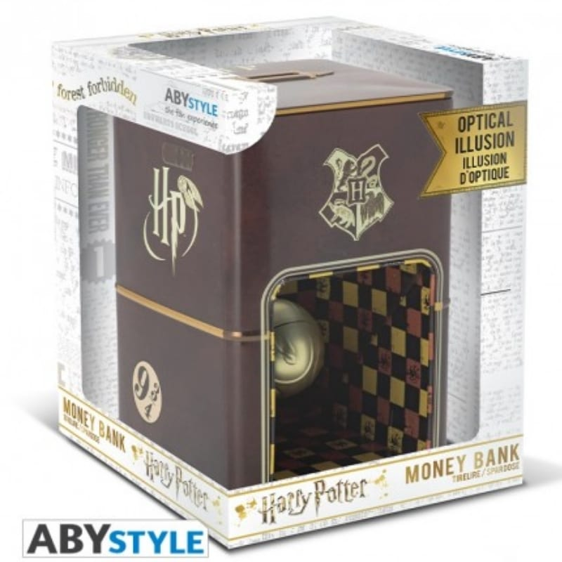 Alcancia Golden Snitch AbyStyle Harry Potter Fantasia Ilusion Optica