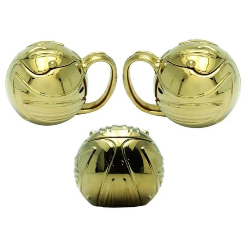 Mug Golden Snitch AbyStyle Harry Potter Fantasia Dorada