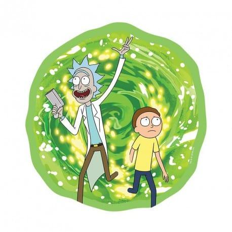 Pad mouse Portal Rick AbyStyle Rick And Morty Animados Circular