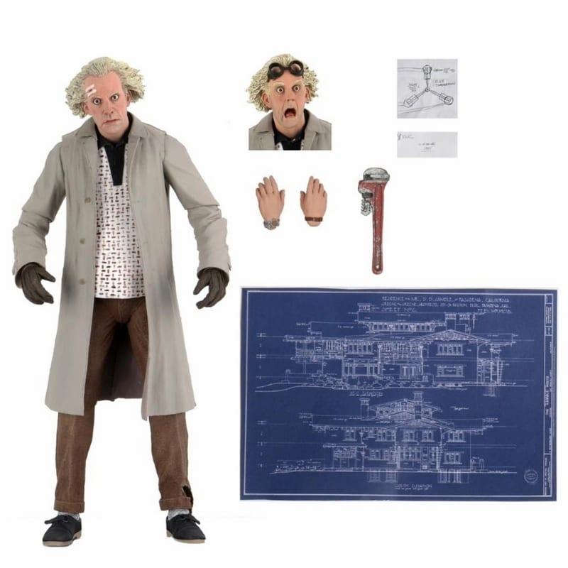 Figura Doc Brown Neca Back Of The Future Ciencia Ficcion