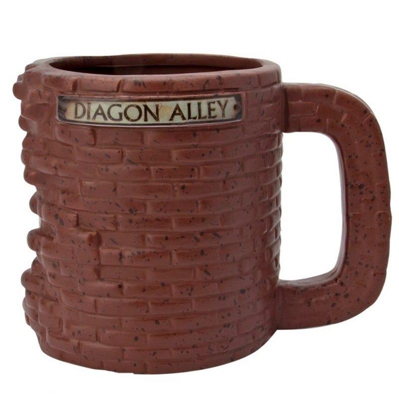 Mug Diagon Alley Harry Potter Fantasía 500 Ml