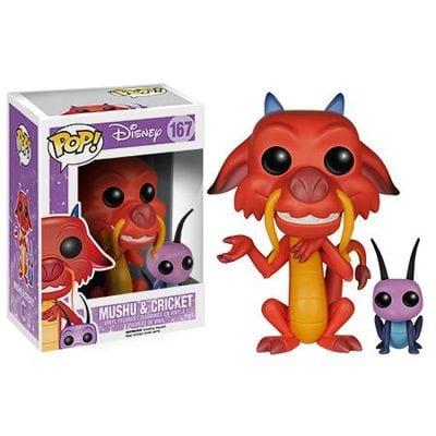 Disney - Figura Funko POP Mushu y Cricket