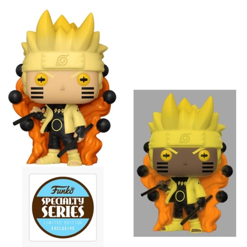 Figura Naruto Sabio De Los Seis Caminos Funko POP Naruto Shipudden Anime Special Edition