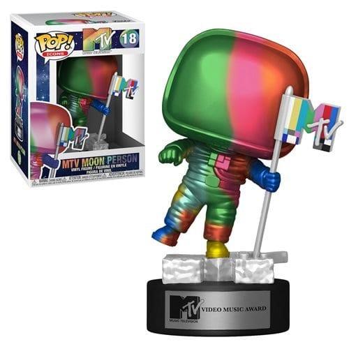 Figura Moon Person Funko POP MTV Música Multicolor (Pre-Venta Llegada Aproximada Julio)