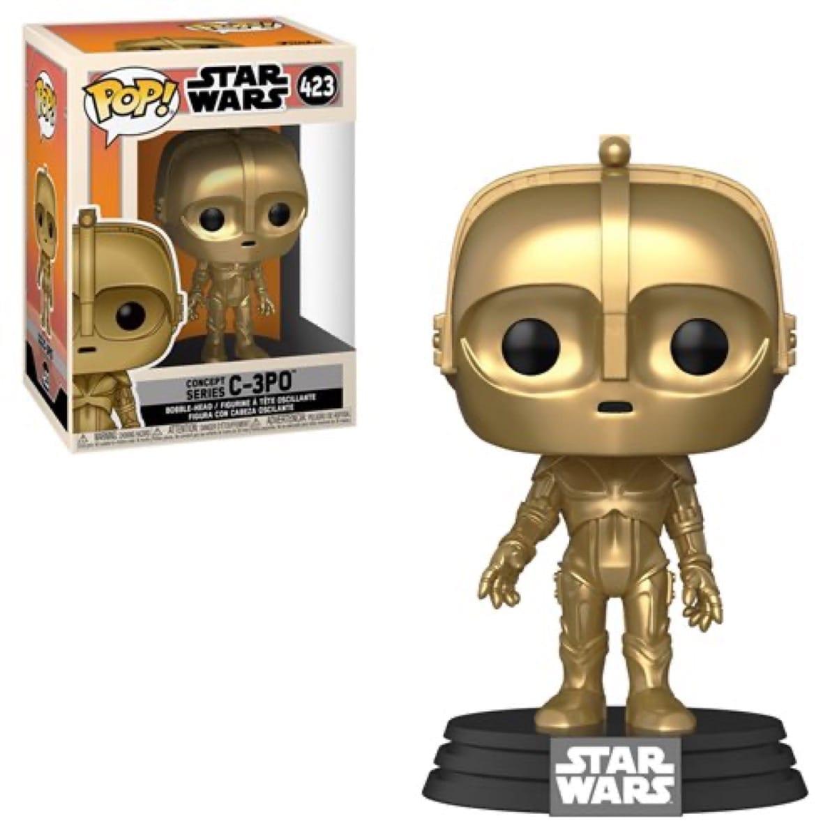 Figura C-3 PO Funko POP Star Wars Concept Seriees