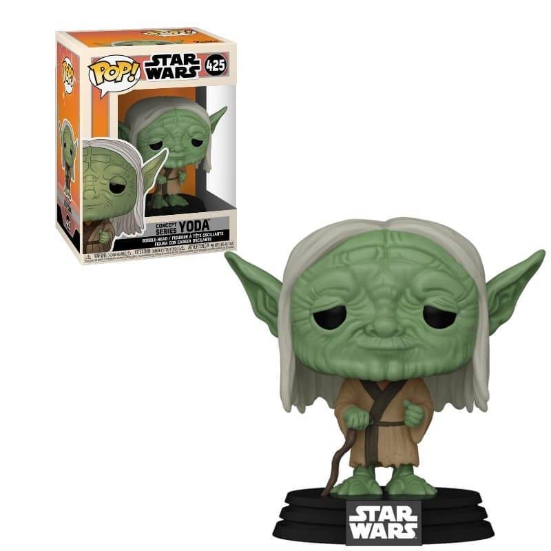 Figura Yoda Funko POP Star Wars Concept Seriees