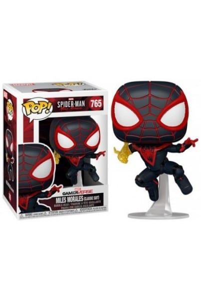 Figura Miles Morales Funko POP Marvel Classic Suit