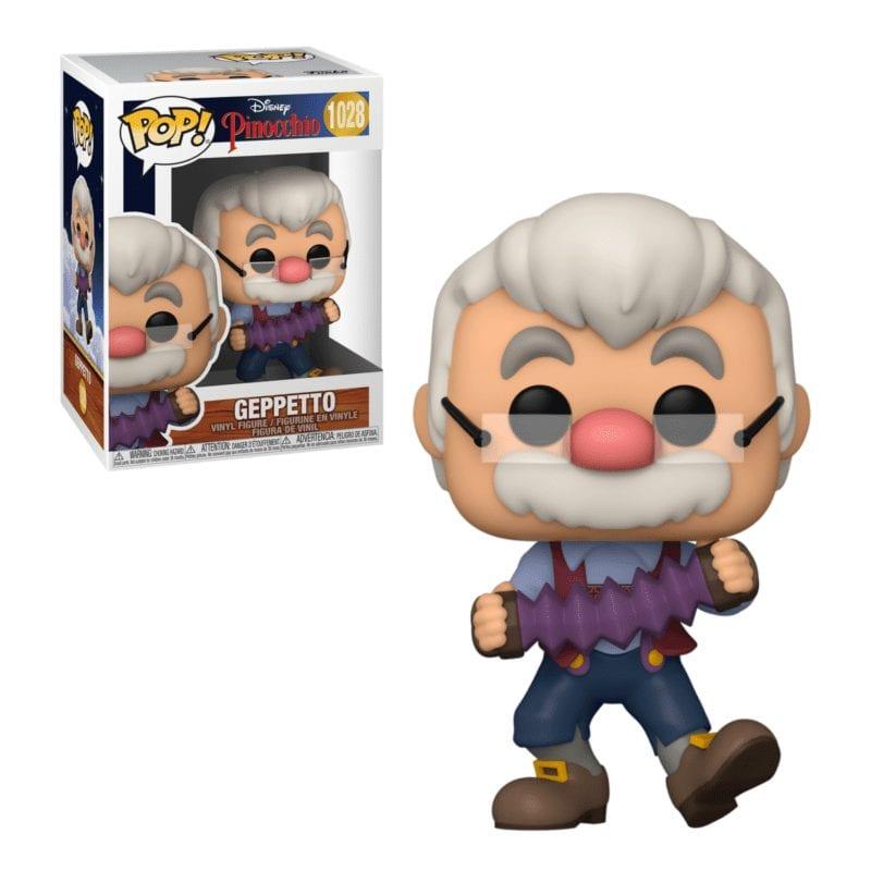 Figura Geppetto Funko POP Animados Disney