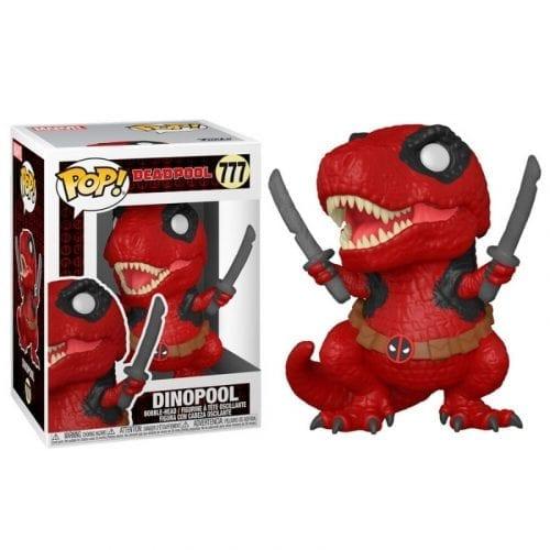 Figura Dinopool Funko POP Deadpool Marvel