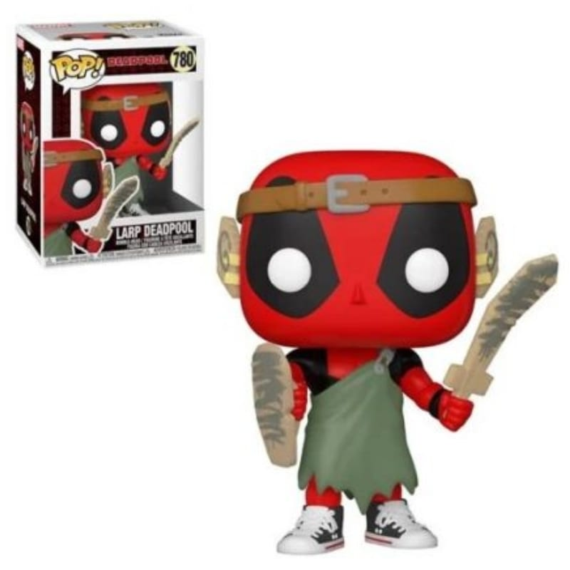 Figura Larp Deadpool Funko POP Marvel