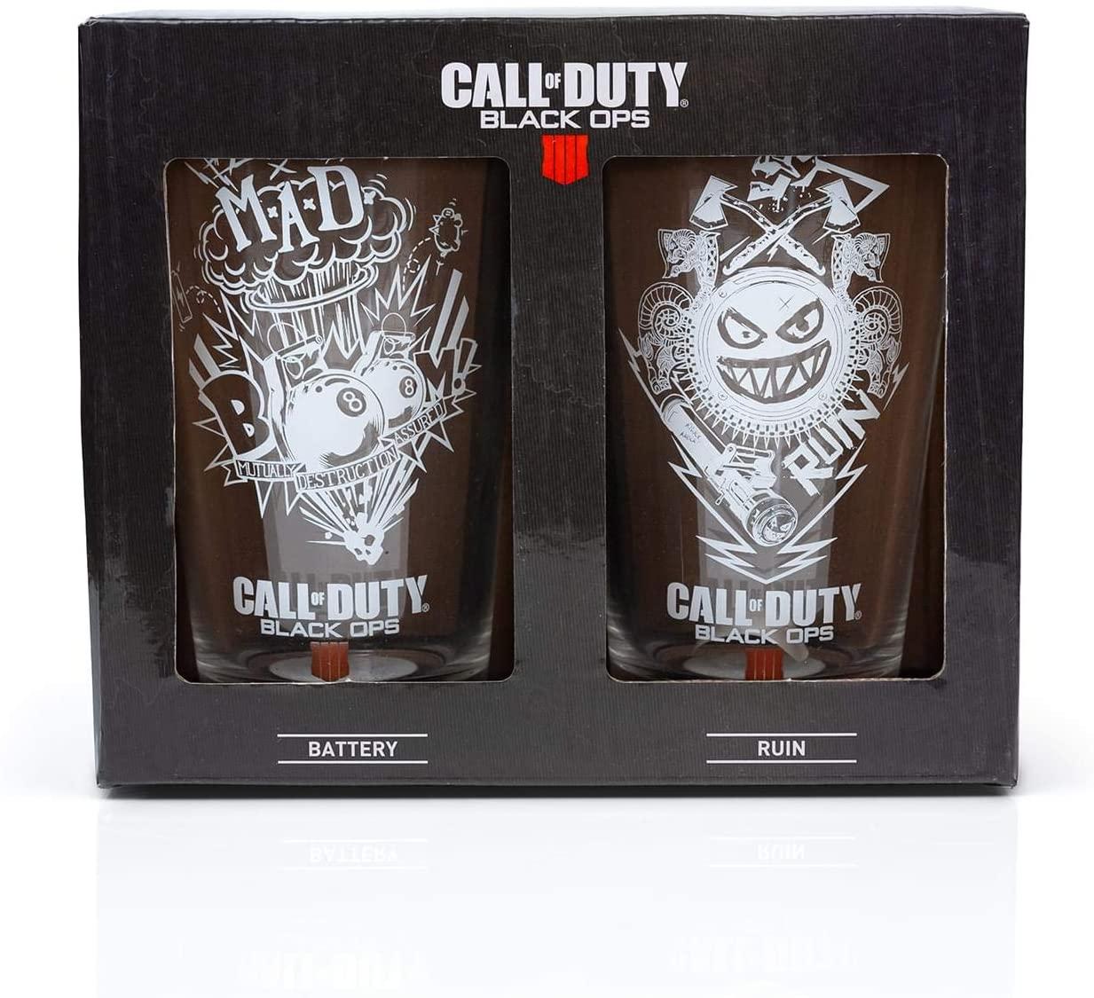 Vasos transparentesC all of Duty Black Ops 4  de 17 oz