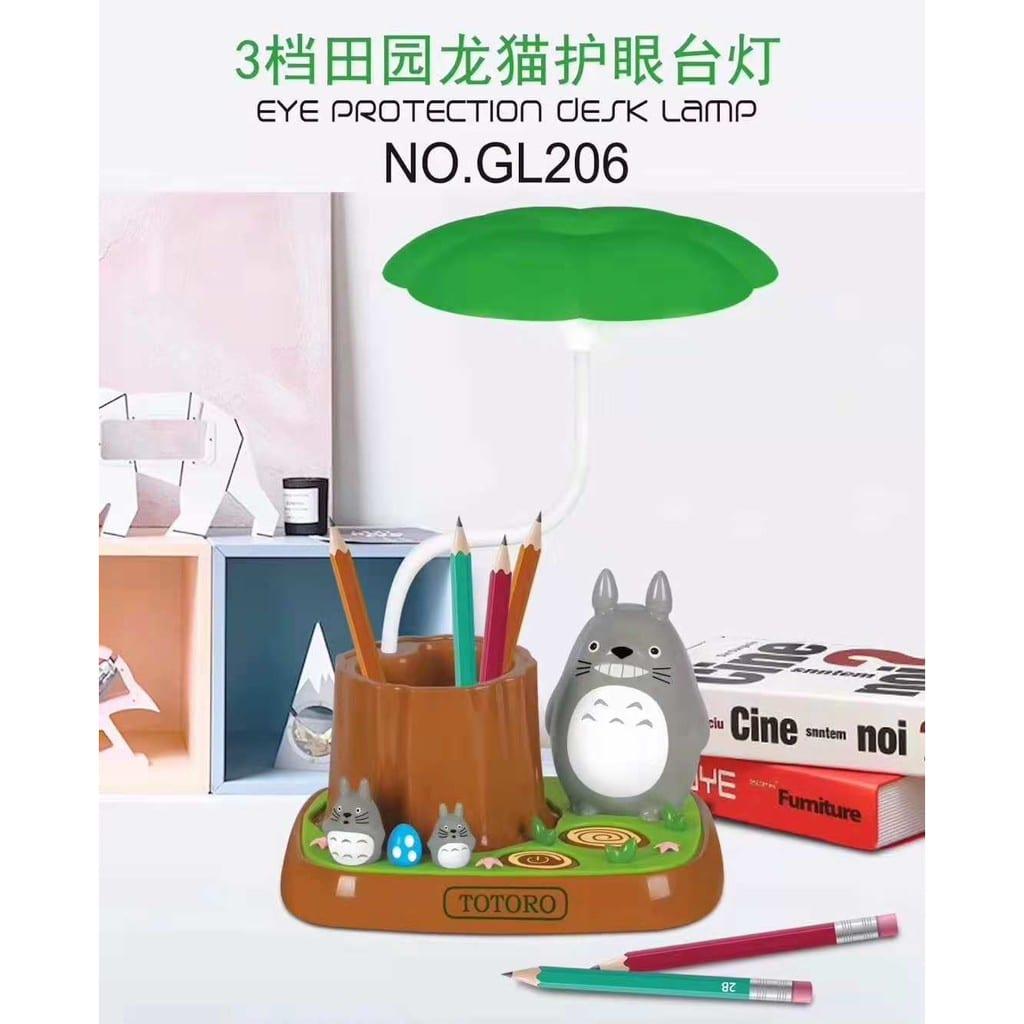 My Neighbor Totoro - Lampara y Base PT Totoro y Árbol GL208 (copia)