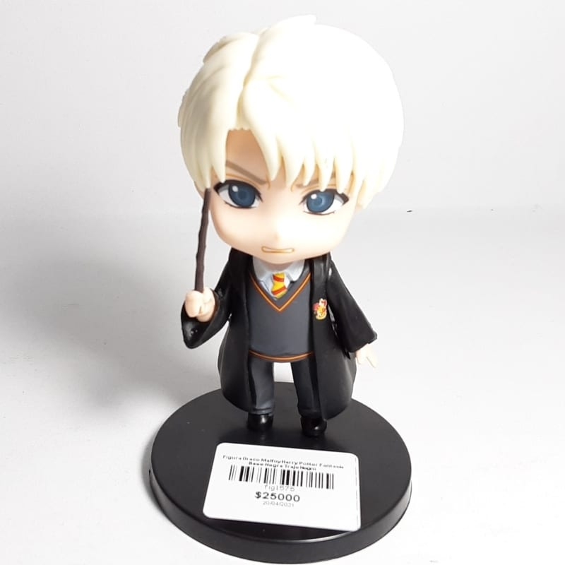 Figura Draco Malfoy Harry Potter Fantasía Base Negra Traje Negro
