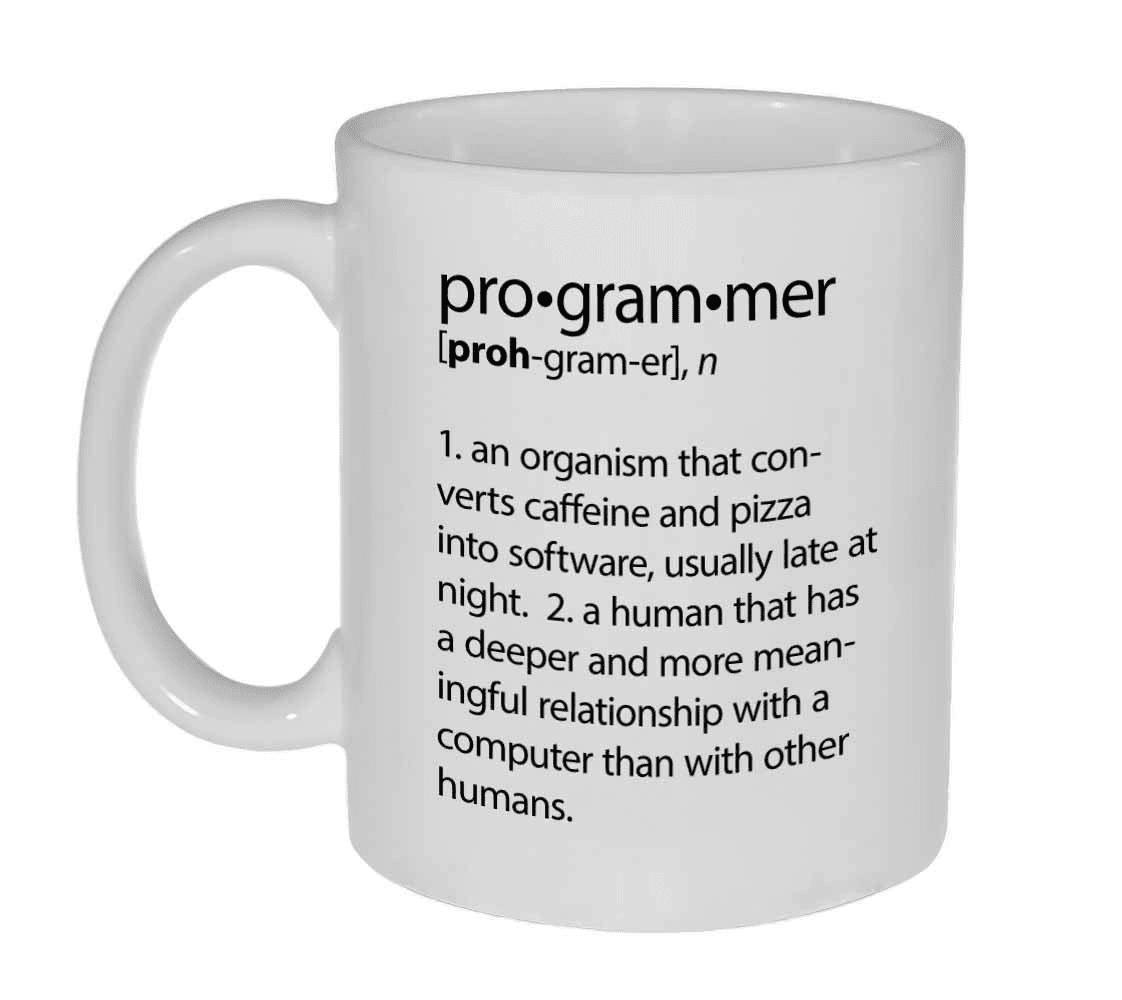 Mug Significado de Programador TooGEEK Tech