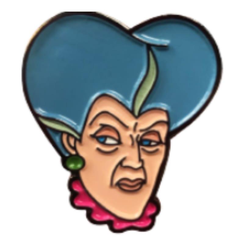 Pin Metálico Lady Tremanie Villanas Color