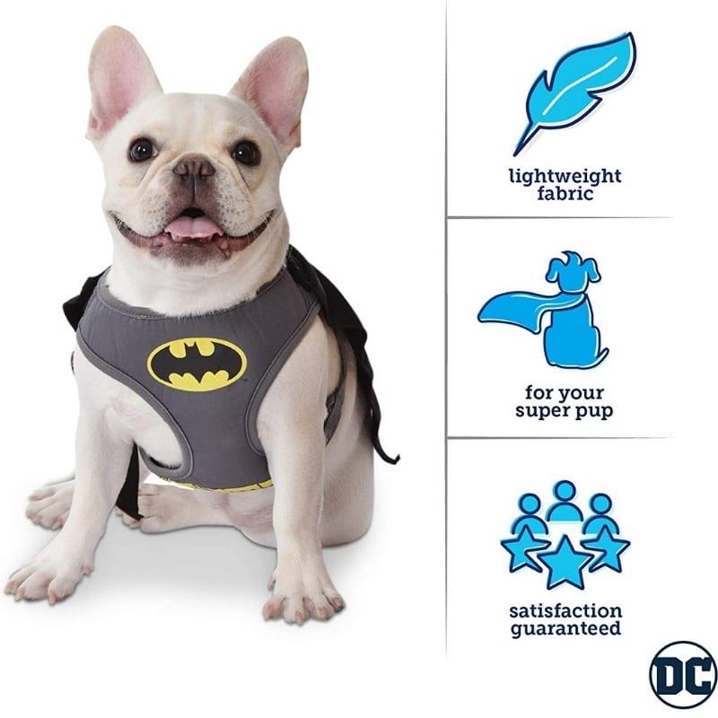 Arnes Disfraz Para Mascota Batman Fetch DC Comics Talla M Raza Pequeña
