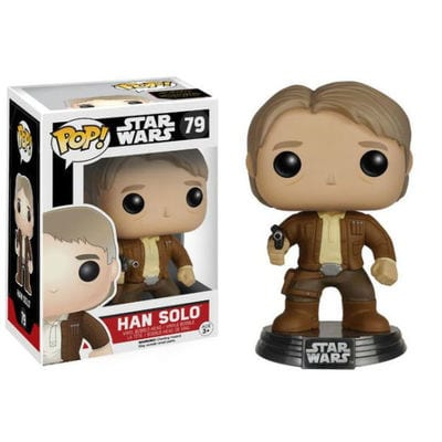 Figura Han Solo Funko POP Star Wars The Force Awakens