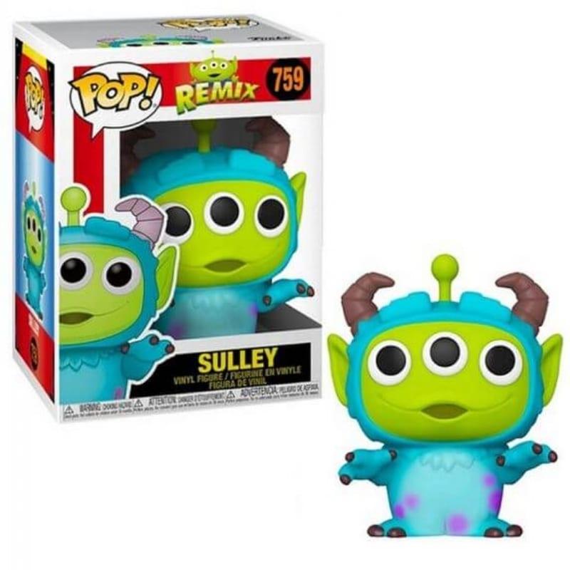 Figura Sulley Alien Funko POP Monsters Inc Disney