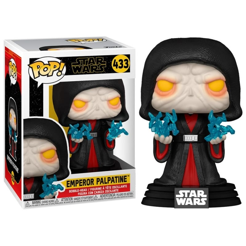 Figura Emperor Palpatine Funko POP Star Wars