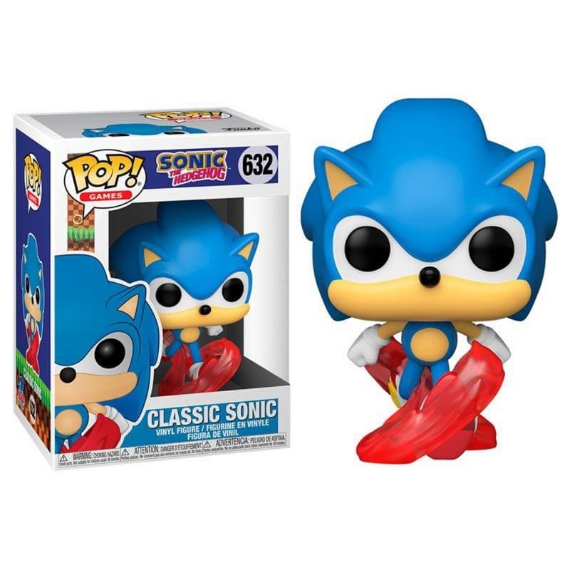 Figura Classic Sonic Funko POP Sonic The Hedgehog Videojuegos