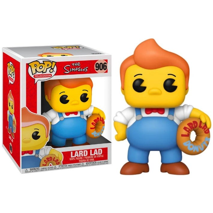 "Figura Lard Lad Funko POP The Simpsons Animados Mantecoso dona 6"""