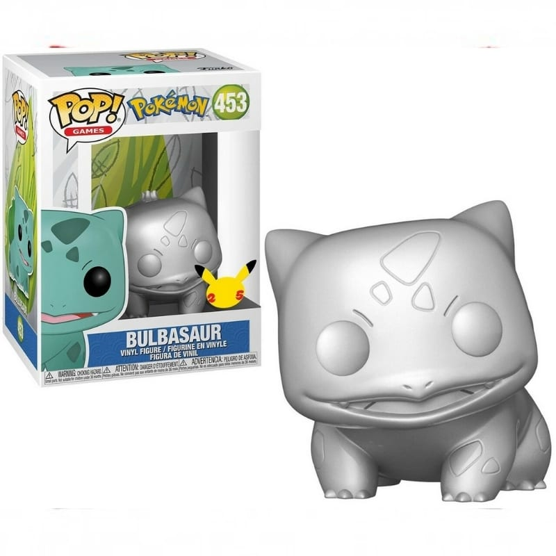 Figura Bulbasaur Funko POP Pokemon Anime