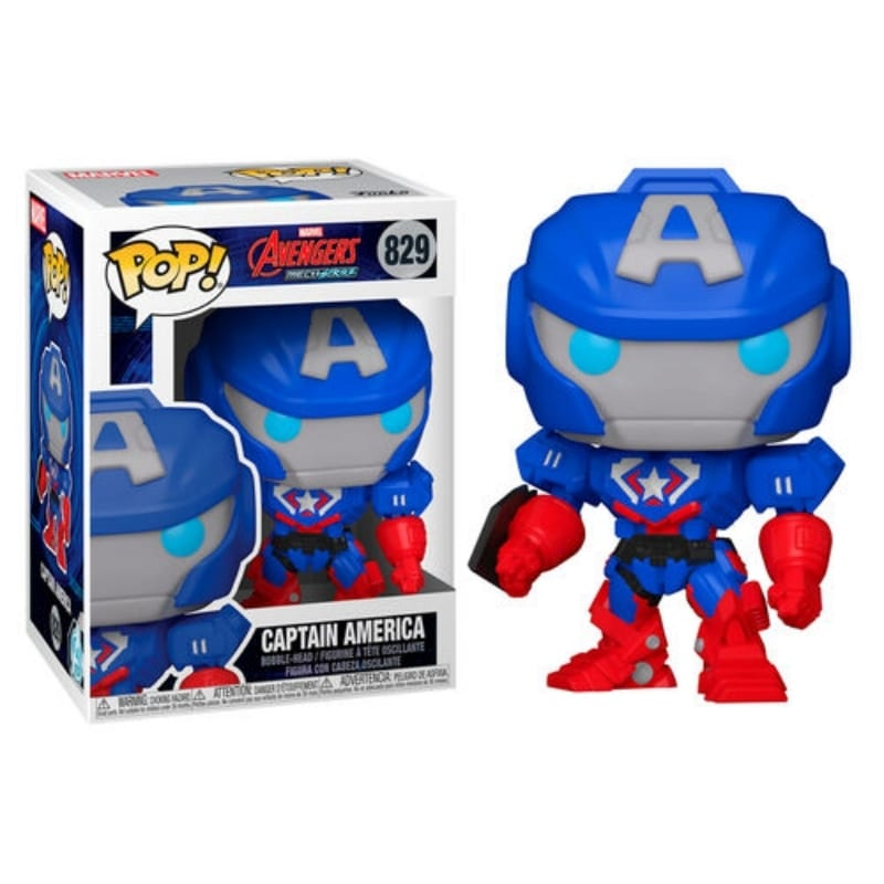 Figura Capitan America Funko POP Avengers Marvel MechStrike