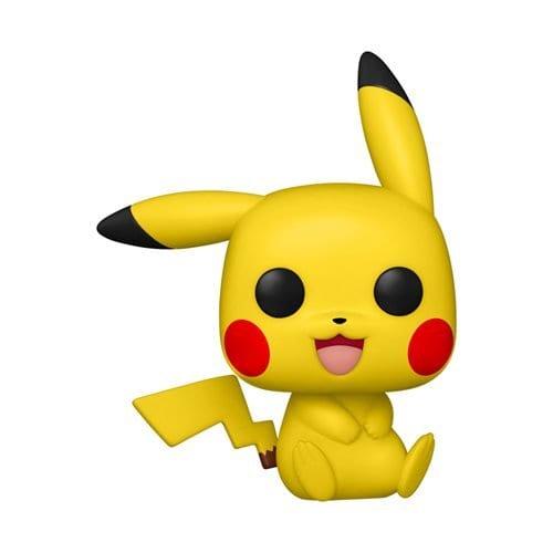 Figura Pikachu Funko POP Pokemon Anime Sentado (Pre-Venta Llegada Aproximada Octubre)