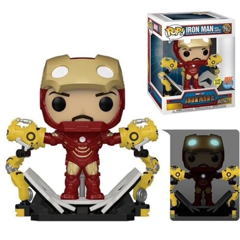 """Figura Iron Man 2 Funko POP Marvel Portico De Lujo Glow In The Dark 6"""" (Pre-Venta Llegada Aproximada Noviembre)"""