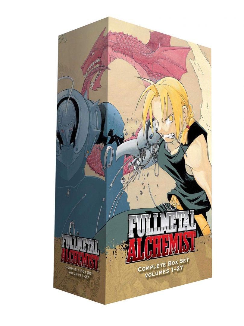 Colección Completa Mangas Fullmetal Alchemist Anime Pasta Blanda