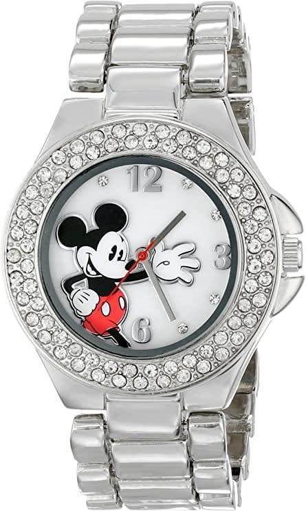 Reloj de Pulso Mickey Mouse Disney MK2070 Plateado