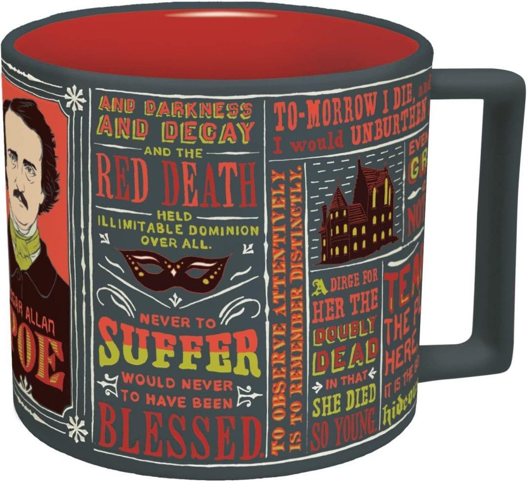 Mug  Edgar Allen Poe Literatura Iconos