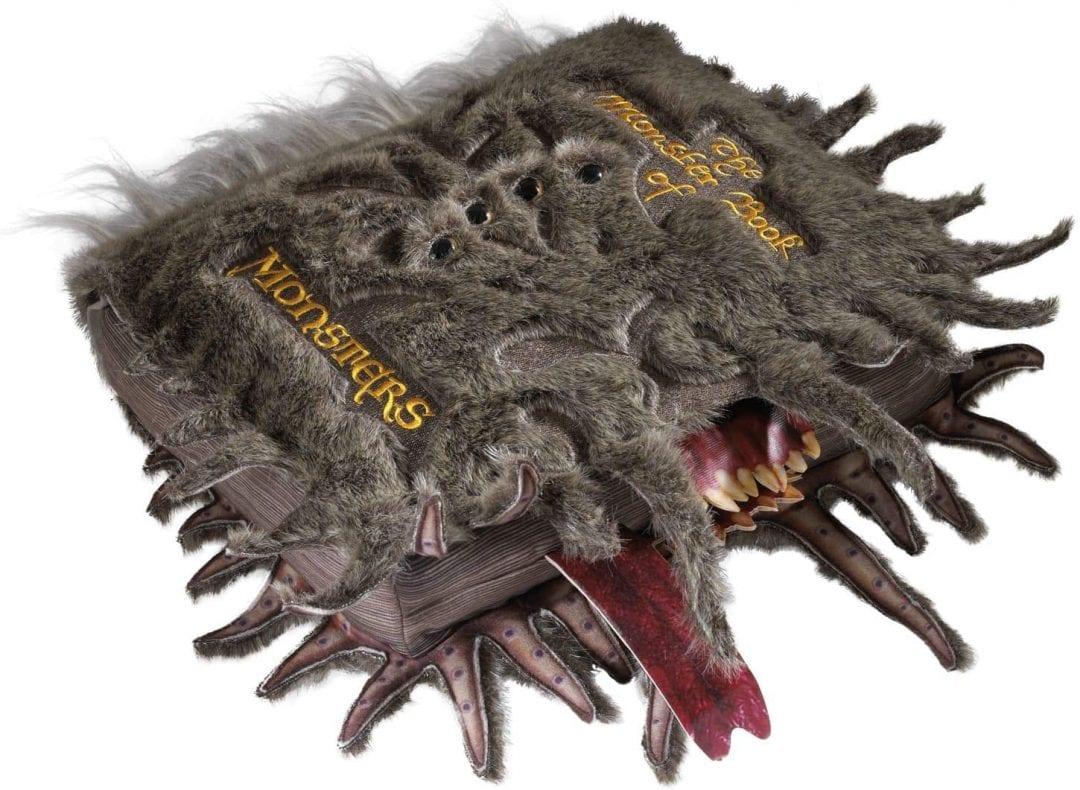 Libro de Monstruos Harry Potter Fantasía de Peluche