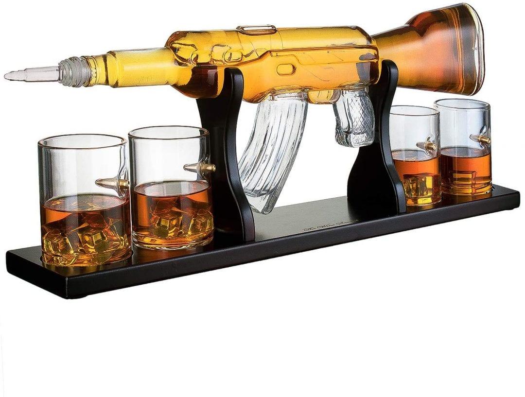 Juego de copas de whisky de edición limitada