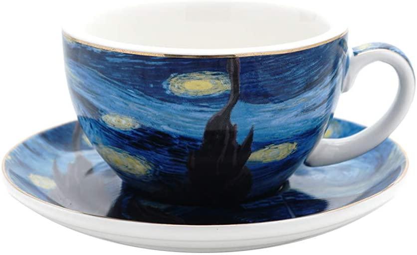 Taza Vincent Van Gogh Iconos  (7.5 oz)