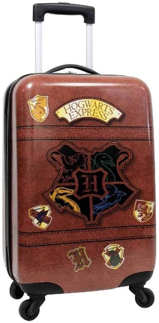 Maleta de viaje Harry Potter 21 pulgadas Hogwarts Express de cara dura con ruedas
