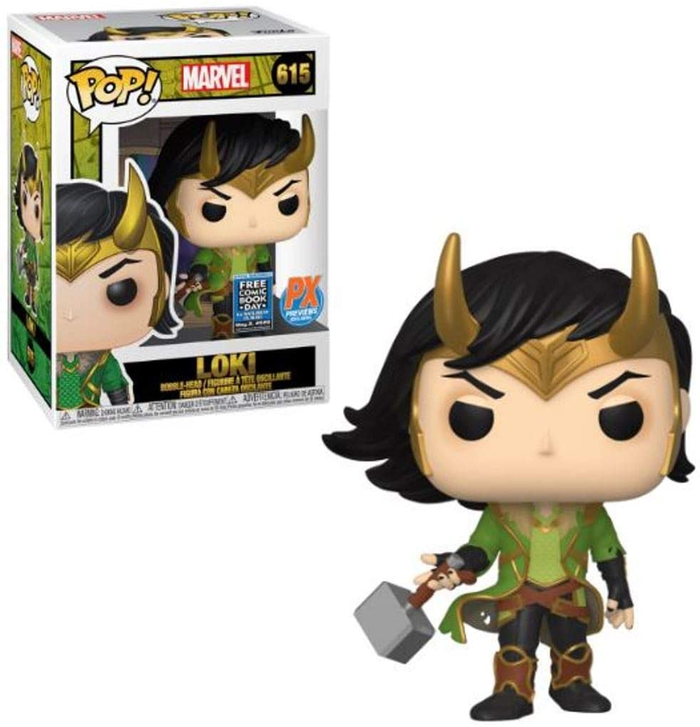 Figura Loki Funko POP Marvel (Free Comic Book Day 2020)