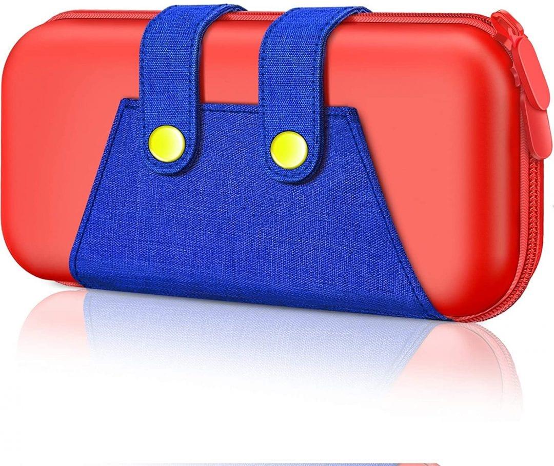 Funda de transporte portátil para Nintendo Switch Console Mario Bros Videojuegos