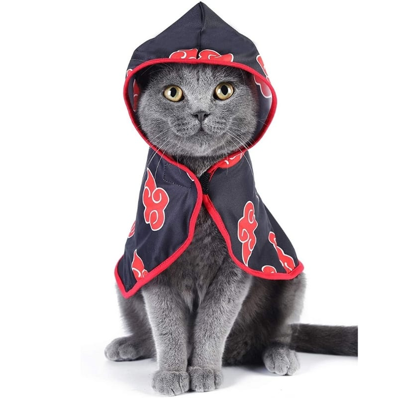 Arnes Disfraz Para Mascota Akatsuki Fetch Naruto Shipudden Anime Talla M