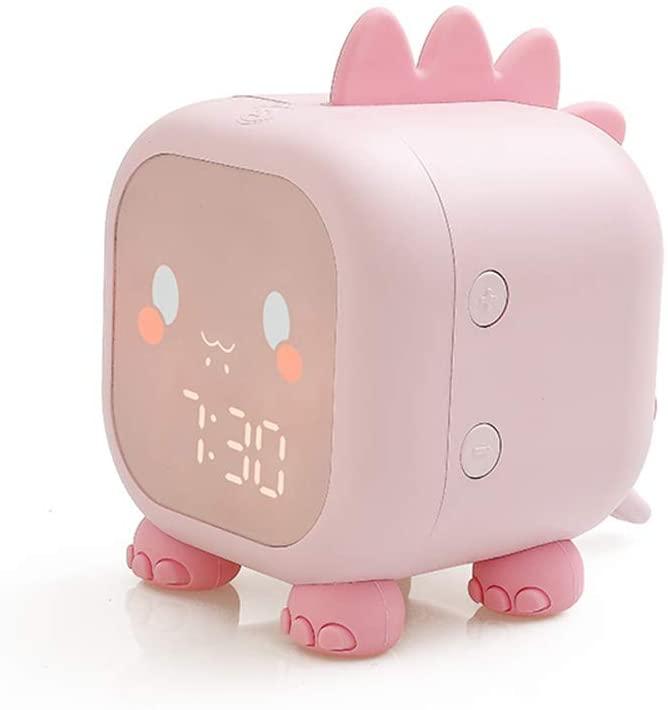 Despertador con luz nocturna 6 tonos de llamada de dinosaurio