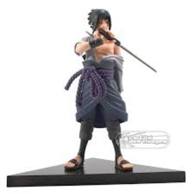 """Figura Sasuke PT Naruto Shippuden Anime Con Espada 7"""""""